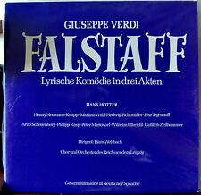 Verdi/Hotter/Weisbach    Falstaff  1939        Preiser Records