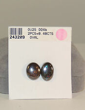 Boulder Opal Cabochon Free Form over 8cts. from Australia Set of 2 (4005)