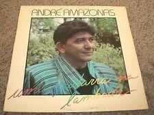 Uma Guitarra Na Lambada Andre Amazonas~PROMO~RARE 1989 Brazil Import Latin