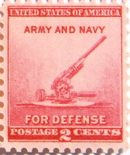 1940 - 2 Cents National Defense Army & Navy (Canon) US Postage Stamp # 900