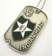 2ND INFANTRY DIVISION  (Commémorative Dog Tag)