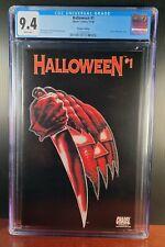 Halloween #1 - Premium Edition Glow-in-the-Dark Cover - Chaos! Comics CGC 9.4
