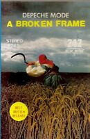 Depeche Mode .. A Broken Frame.  Import Cassette Tape