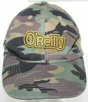 O'Reilly Auto Parts 3D Logo Camo Adult Baseball Hat Camouflage Strapback Cap