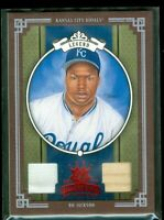 2005 Diamond Kings Materials Framed Red #288 Bo Jackson Bat-Jsy 48/100