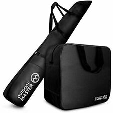OutdoorMaster Ski Bag And Boot - Travel With Skis Up To 200 Cm &amp Boots Size