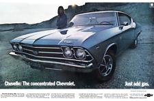"1970 Chevrolet Chevelle SS 454 LS6 Convertible NHRA Poster 24/""x 36/"" HD"