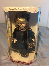 Collector's Choice Genuine Fine Bisque Porcelain Doll( Doll With Eyes Glasses)