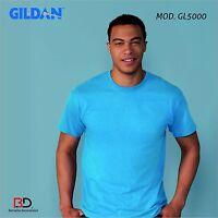 T-SHIRT NEUTRE BIANCHE STOCK MAGAZZINO GILDAN GL5000