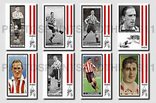 BRENTFORD - CIGARETTE CARD HISTORY 1900-1939 - Collectable postcard set # 3