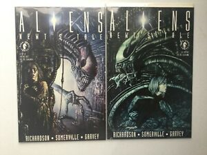 Aliens Newts Tale 1 2 Complete Prestige Dark Horse NM