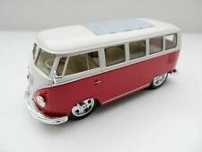 Volkswagen VW Classique Bus Année de construction 1962 Pompier 1 24 Welly