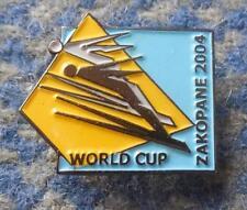 FIS WORLD CUP SKI FLYING JUMPING POLAND ZAKOPANE 2004 PIN BADGE