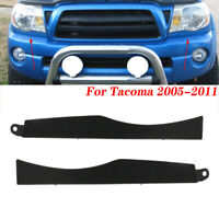 FRONT BUMPER GRILLE HEADLIGHT FILLER TRIM PANELS SET FOR TOYOTA TACOMA 2005-2011