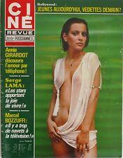 Ciné Revue n°13 - 1979 - Annie Girardot - Serge Lama - Marcel Bozzuffi - Bottoms