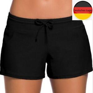 2021 Sommer Damen Schwimmshort Pants Badeshorts Kurze Hose Sport Hose Badehose