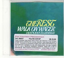 (FU850) The Rest, Walk On Water - 2009 DJ CD