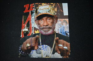 LEE SCRATCH PERRY signed autograph In Person 8x10 (20x25 cm) MARLEY