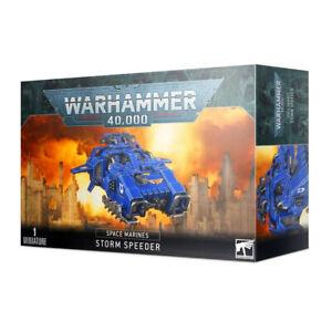 Games Workshop Warhammer 40k - Space Marine Primaris Storm Speeder DAMAGED