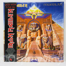 Iron Maiden PowerSlave Sealed LP Picture Disc with Obi Strip Stunning limited