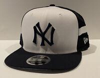 New Era 9FIFTY New York Yankees Two Tone Snapback Trucker Hat High Crown