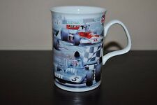 ROY KIRKHAM  Mug RACING CARS Marlboro Elf Bone China LANCASTER ENGLAND Signed