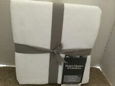 Better Homes & Gardens Twin White Waffle Weave Cotton Blanket