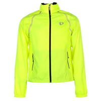 Pearl Izumi Elite Barrier Convertible Jacket Mens Neon Yellow UK XS