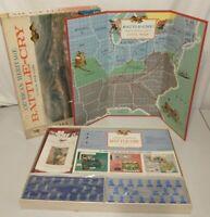 American Heritage Battle Cry Milton Bradley 1961 Vintage Board Game Civil War