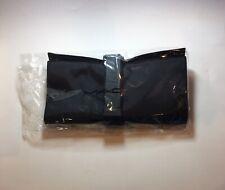 MAC Large Black Make Up Brush Roll Wrap Case Holder New