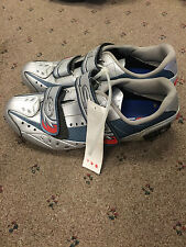 New Unboxed Sidi Raiden Women's Silver Cycling Shoes Size 40.5