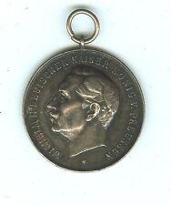 1913 Wilhelm II Bremerhavener Silver Medal 34 mm