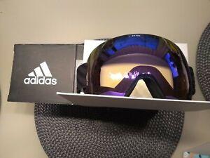 ⛷️ Original Adidas Skibrille Snowboard Brille AD85/75 9100 NEU UPE 115€