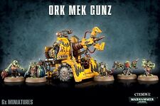 MEK Gunz Orks Warhammer 40k Games Workshop Neu/ovp
