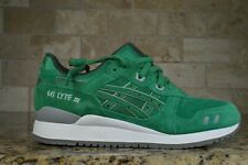 BRAND NEW Asics GEL-LYTE 3 III (GREEN) PUDDLE PACK SUEDE [H5U3L-8484] Running