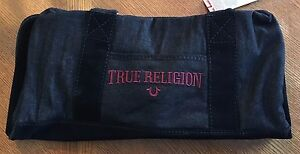 NWT $179.00 True Religion Washed Black TR Duffle Bag...ON SALE TODAY!!!