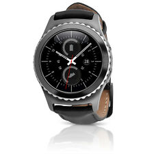 Samsung Gear S2 Classic T-Mobile Smartwatch w/ Leather Band SMALL Black SM-735T