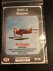Osborn Models 3073 N Scale DHC-2 Beaver Airplane Kit HH