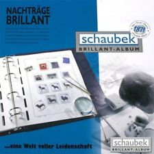 Schaubek L-602B Album Bayern 1849-1920 Brillant im geprägten Schraubbinder Super