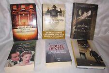 6 romanzi:Charlotte Link,Matt Rees,José Lloréns,Laclos,Colin Dexter,Von Schirach