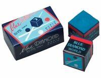 8 Pieces Of Brand New Blue Diamond Premium Longoni Pool Cue & Billiard Chalk