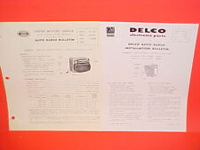 1950 1951 1952 GMC TRUCK UNITED MOTORS DELCO GM RADIO SERVICE SHOP MANUAL PICKUP