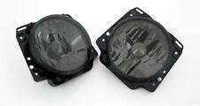 VW Golf MK2 2 Crystal Clear Black Smoke Euro E-Code Sport Headlight Headlamp 85-