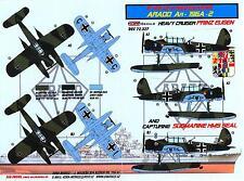 KORA Decals 1/72 ARADO Ar-196A-2 German Heavy Cruiser PRINZ EUGEN
