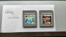 Soccer und Die Schlümpfe (reisen um die Welt) - Nintendo Game Boy - Blitzversand