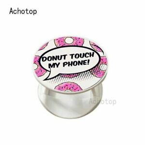 Finger Ring Mobile Cell Phone Grip Holder Socket For Car Mount Stand - New