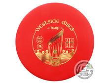New Westside Discs Bt Medium Harp 173g Red Gold Foil Putter Golf Disc