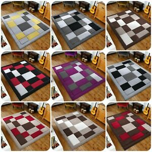 New Squares Design Soft & Thick High Quality HAVANA Rugs with Beautiful colours