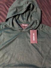 Raf Simons Wool Hooded Sweatshirt Green XXL