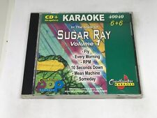 Chartbuster Karaoke Pop Sugar Ray VOL 1 CDG 40040 6+6 Song
